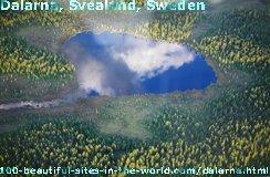 Dalarna, Svealand, Sweden, Spruce Tree