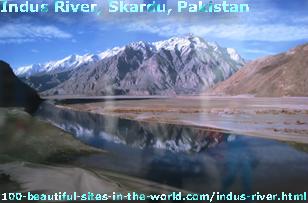 Indus River, Skardu, Pakistan
