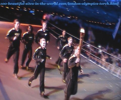 London Olympics 2012. London Olympics torch marathon