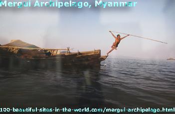 Mergui Archipelago in Myanmar (Burma)