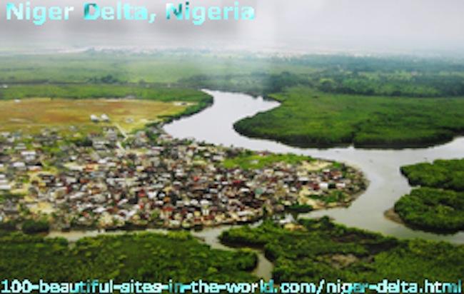 The Niger Delta: The Niger River Basin in Nigeria.