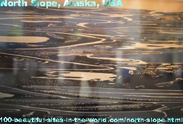 North Slope, Alaska State, USA, America