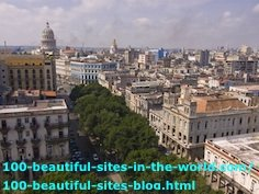 The Old City of Havana, the Capital City of Cuba.