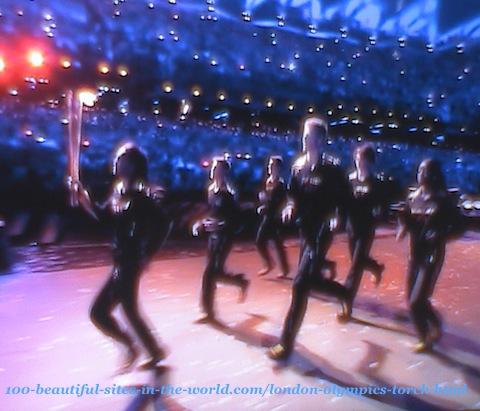 London Olympics 2012. London Olympics torch ceremony