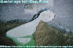 Quelccaya Ice Cap, Peruvian Cuzco Lima.