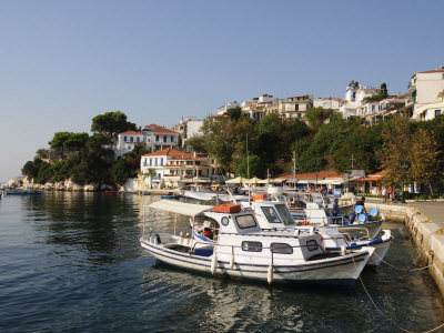 100 Beautiful Sporades Greek Islands: Skiathos Town.