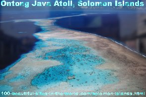 Solomon Islands, Ontong Java Atoll, Pacific Ocean