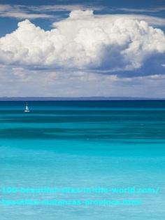 Sea at Matanzas Province, Varadero Beaches, Cuba.