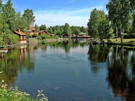 Beautiful View from Dalarna, Sweden